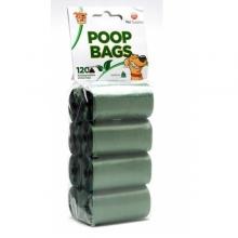 Toby's Poop Bags 120 db-os lebomló ürülék felszedő zacskó